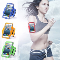 New GYM Workout Sport Arm Band Leather Cover For Apple iPhone 6 Plus Bag Fashion Arm Tie Run Riding Support Case For iphone6 5.5