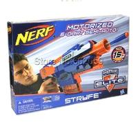Stryfe Elite Series Motorizied Semi-Auto 6 Darts Blaster 15M Range Soft Bullet Toy Gun