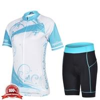 cheji original Women Cycling Jerseys short Sleeve Cycling Pants Sets Outdoor Cycling Clothing For Woman