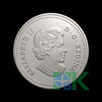 Canada Eliabeth II D.G.Regian silver  5dollars coin replica free shipping 10pcs/lot 40*3mm