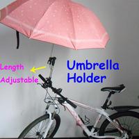 Baby Stroller Umbrella Holder Bracket For Bicycle Bike Wheelchair Adjustable