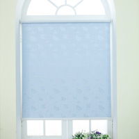 PVC Thickened and waterproof blackout roller blinds living room bathroom office bead rope curtains