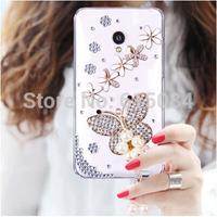 3D Bling Case For Motorola Moto G2 G 2nd Gen XT1068 XT1069 rehinstone angel peacock flower lips bow case Mobile Phone cover