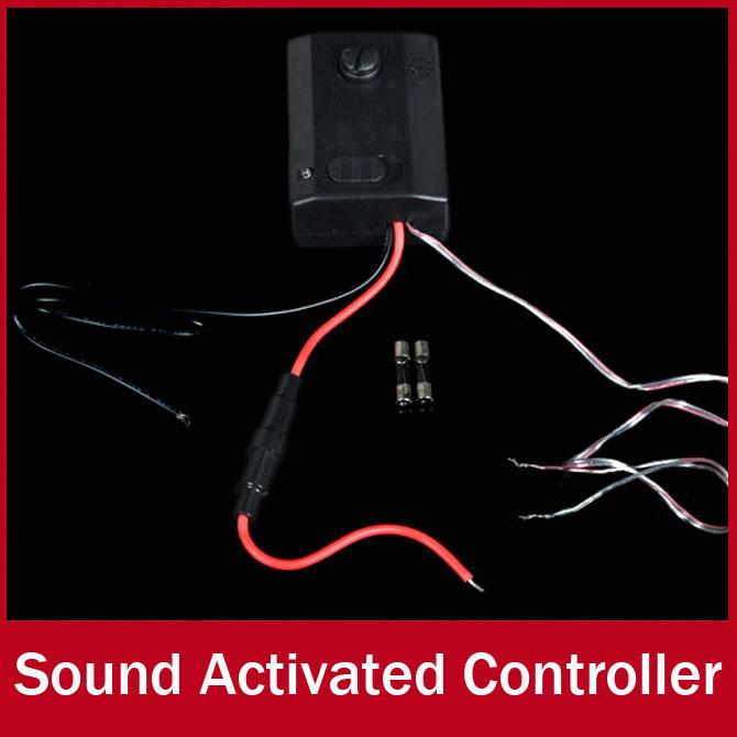 Гаджет  Car Sound Sensor Controller Voice Music Sensitive Sensor Sound Activated Controller Switch for LED Light None Свет и освещение