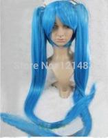 New cosplay Hatsune Miku heat resistant split type wig   #2@28