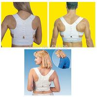 Adjustable Posture Corrector Belt Magnetic Posture Support Shoulder Body Back Brace& Supports For Men Women Christmas Gifts