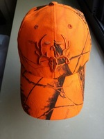 2014 Hunter Orange Camouflage Hat Hunting Cap Headwear Fishing Sporting hat Free shipping