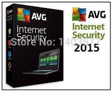 AVG Antivirus security AVG Internet Security 2015 2014 3Years 3 PC 100% Working antivirus Software(China (Mainland))