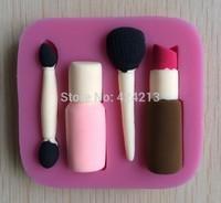 Cosmetics  Fondant cake design mold,silicone gumpaste art mold,baking tools , hourse mold mould,silicone cake tools -P242