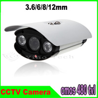 "CCTV Outdoor Security Camera 1/3"" CMOS 480TVL Weatherproof Day Night Vision Surveillance 15-30M IR distance"