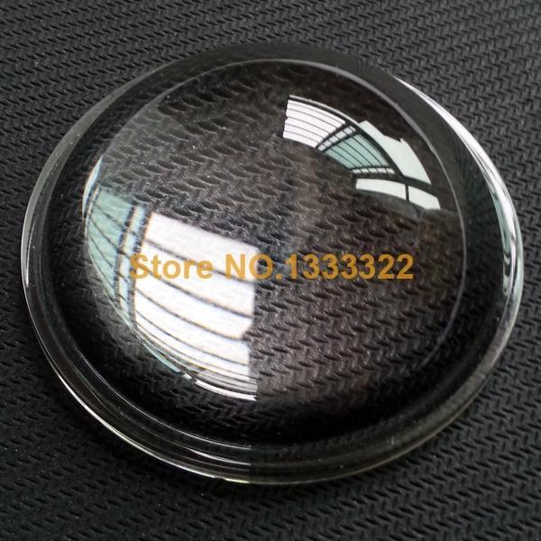 Diameter 104mm Height 33mm High power LED optical glass lens, Street lights Plano-convex optical glass lens(China (Mainland))