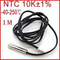 Waterproof NTC High Temperature Sensor Probe -40C to 250C NTC 10K 1M Length