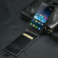 PU Leather Protective Case For ZTE Nubia Z7 mini Flip Leather Case UP And Down Cellphone Cover Shell With Card Slot