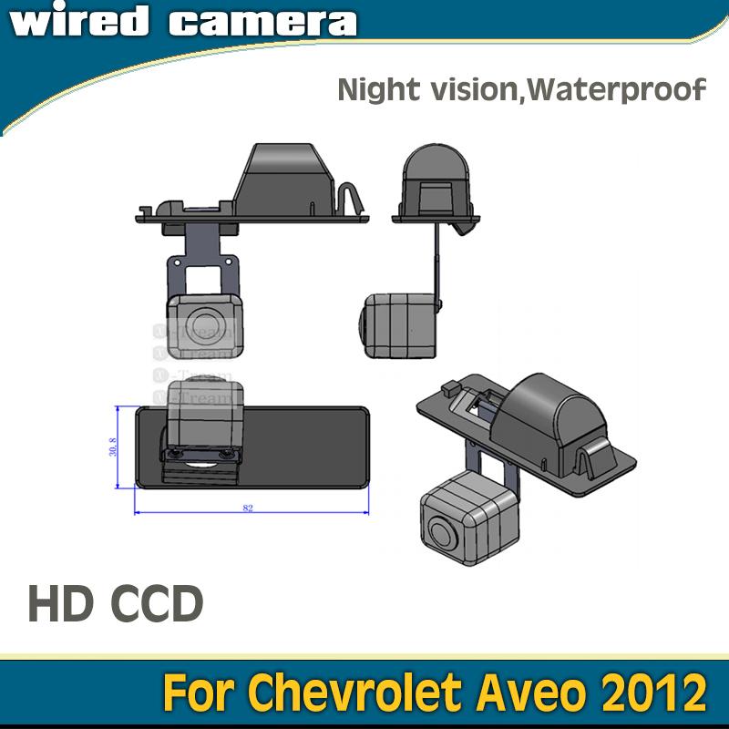 For Chevrolet Aveo 2012 Thailand version rear view camera parking camera night vision waterproof 1090K CCD1/3''(China (Mainland))