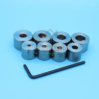 New 8pcs Drill Bit Shaft Depth Stop Collar 3mm,4mm,5mm,6mm,7mm,8mm,9mm,10mm