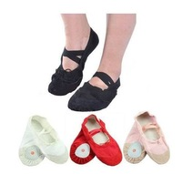 Free Shipping Size23~40 15~23cm Children Soft Sole Girls Ballet Shoes Women Ballet Dance Shoes For Kids Adult Ladies