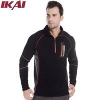 IKAI Men Fleece Jacket Brand Design Men's Outdoor Jacket casual Men's Clothing Windstopper Spring Men Hiking Jackets HMJ0005-5