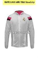 Top 2015 Real Madrid Anthem Jacket dust coat wind coat Training jacket Football jacket  Thailand Real Madrid Home Away