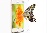 Free shipping new luxury Tempered Glass Anti Shatter Screen Protector Film For iphone 4 4S 5 5S 6 plus 4.7 5.5 retail package