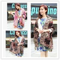 Arrival Exquisite double jacquard Scarves&Showls For Women Long 10 kinds Color Warm Tassel Pashmina Wholesale Accessory JZ102802