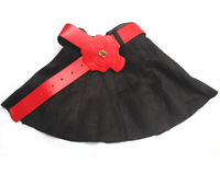 wholesale (5pcs/lot)-child girl lrs-014 autumn and winter Suede skirt