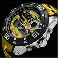 BOAMIGO brand Watches men Sports Military Watch Dual time Digital Analog Quartz Watches Wristwatches Relogio Masculino