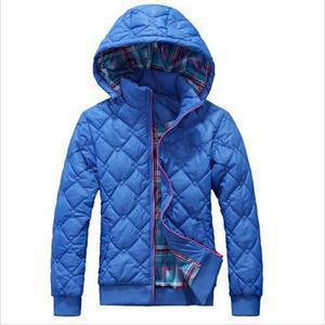 Парки хлопок короткая сплошной, женщины приталенный зима тёплый тонкий пуховик и пуховик материал узор молнии мягкий верхняя одежда
