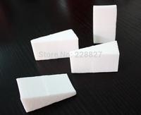 2pack/lot 48pcs Non-latex puff Makeup Cosmetic Powder Wedges Sponges Puffs Foundation Blender Facial Foam