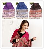 New Arrival Exquisite  Scarves&Showls For Women Long 12 kinds Color Warm Tassel Pashmina Wholesale Accessory JZ102803