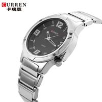 100% Original Curren Brand Men Sport Watches Steel Round Quartz Watch Fashion Military Watch relogio masculino 2014
