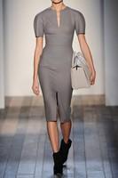 Plus Size Hot Selling Women Clothing Grey Street OL Elegant Short Sleeve Bodycon Party Pencil Bandage Dress Celebrity Dresses