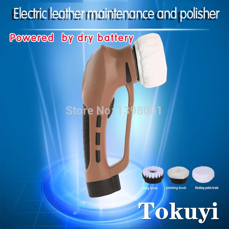 Top quality Electric Automatic Shoe Brush Leather Care Cleaning Shoe Polish Shoe Cleaner Portable maintance polish polisher(China (Mainland))