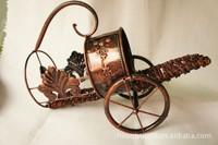 Retro European hot hand carry cart style ideas wine racks, wrought iron wine racks WR005