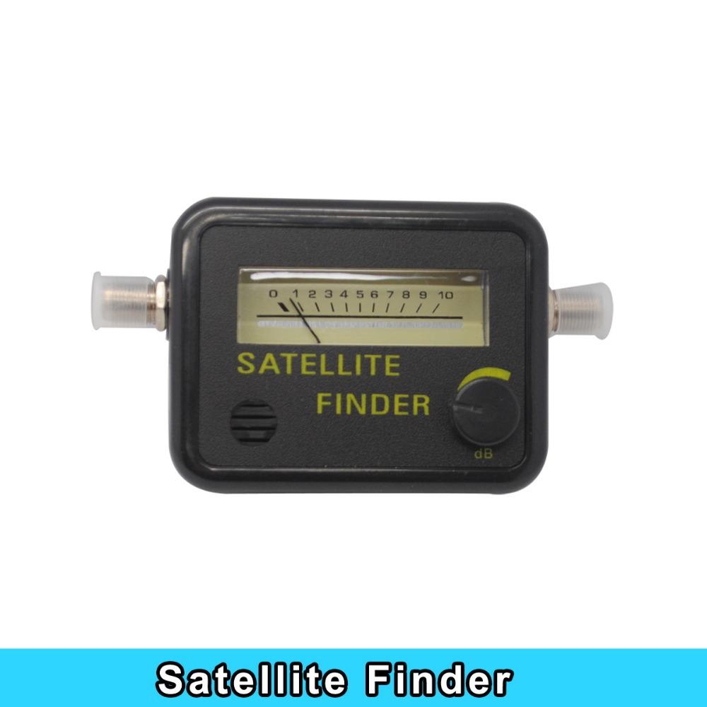 Newest Digital Satellite Finder Meter FTA LNB DIRECTV Signal Pointer SATV Satellite TV Receiver Tool for SatLink Sat Dish(China (Mainland))