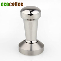 New Arrival Coffee tamper stainless steel coffee hammer stick for Italian steaming coffee machine 49-58mm
