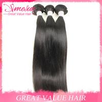 Sunlight Hair Straight 5 Bundles Lot 5A Grade Natural Black Mixed Length Cheap Wholesale Soft Silky Straight Hair Extension
