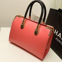 Wholesale 2014 new autumn Korean version fresh candy colore woman handbags European style shoulder bag