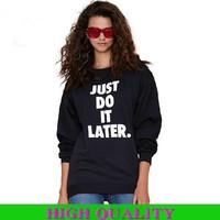 2015 Fashion Casual Women Sweatshirt Women Hoody Letter Printed Cotton T Shirt Hoodies Sport Suit Women Pullover Plus Size