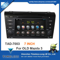 Pure Android 4.4 Capacitive Multi-Touchscreen Car Stereo For OLD MAZDA 3 2004-2009 with GPS Navigation Radio Bluetooth Wifi TV