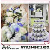 New 6 Tier Crystal Acrylic Cupcake Display Cupcake Wedding Party Decora
