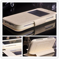new arrival ! free shipping fashion quality pu leather add tpu flip case for ARK Benefit M3S case with open view  o2