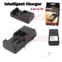 TOMO V6 Charger 1.2V & 3.7V 18650 AA Battery Intelligent Charger USB Cable