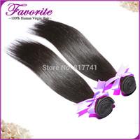 2pcs Lot Good Quality Peruvian Virgin Hair Weaves Silky Straight Ali Favorite Human Hair ,Unprocessed Human Hair Bundles