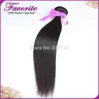 Unprocessed 1pc Peruvian Virgin Hair Straight Weave Good Quality Silky Straight Ali Favorite Human Hair,  Hair Bundles for sale