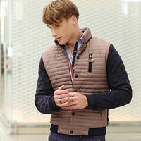 Cold Winter Man Warm Parkas Plus Size M-3XL Street Style Cotton Padded Outerwear 2014 Men Fashion Jackets