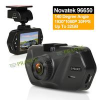 Novatek 96650 Dash Cam 2.7 inch HD TFT LCD Screen Car Dvr Recoder with 140 Degree Angle Loop Recoder SOS WDR and G-SENSOR C2-0