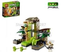 Free shipping original Bela Phantom Ninja Ninjago building blocks educational toys, Snakes Castle enlighten toys for children