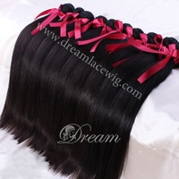 free shipping100% Peruvian silky straight Virgin Hair 4pcs 6A Unprocessed Peruvian Hair Weave sew in Extensions VIP Beauty Hair