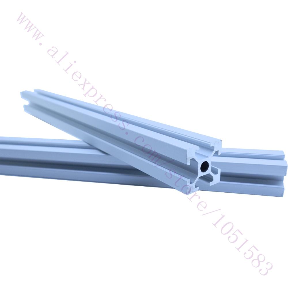 One Set Reprap Wilson TS 3D Printer frame Aluminum 2020 extrusions T-slot Aluminum Pipe 4*400mm+2*330mm(China (Mainland))