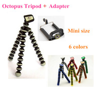 GoPro Mini Flexible Camera Mini Tripod Octopus Bubble Tripod with Mount Adapter for Camera Go Pro,cellphone